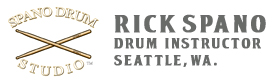 Rick Spano Drum Studio Seattle